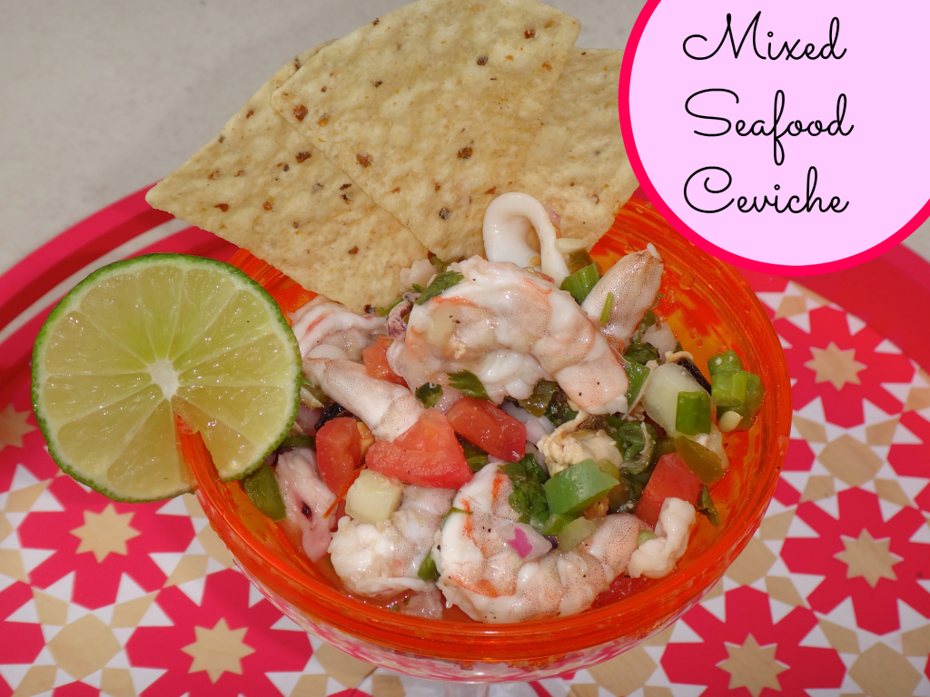 Healthy Mixed Seafood Ceviche Recipe