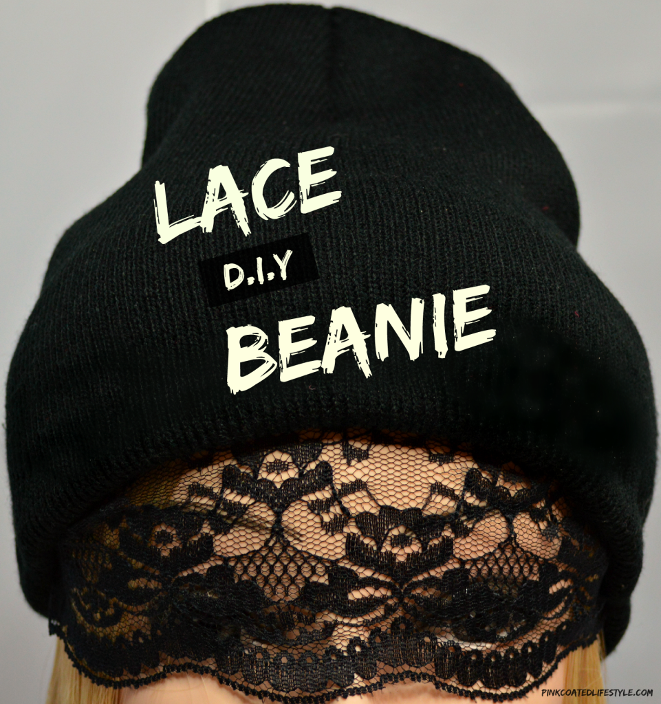 D.I.Y Lace Beanie