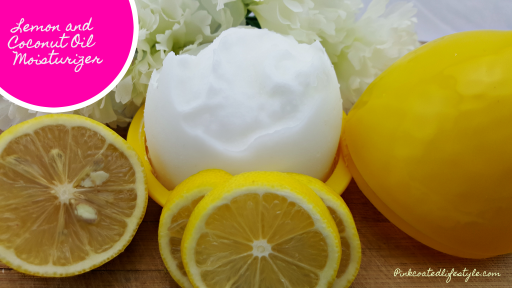 Lemon and Coconut Oil Moisturizer